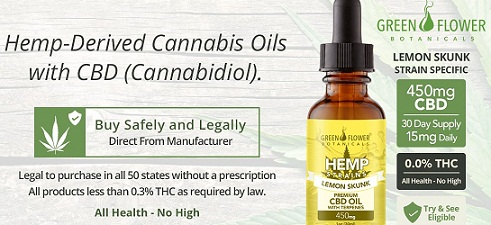 green flower botanicals cbd coupon code