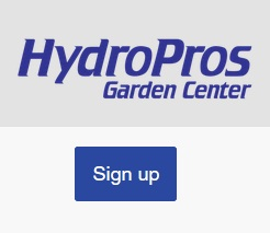 hydropros garden center discount code