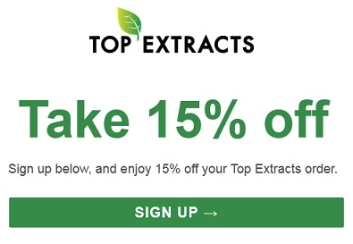 top extracts coupons logo